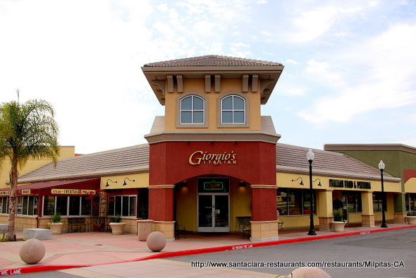 Giorgio's Italian Food & Pizza in Milpitas, California