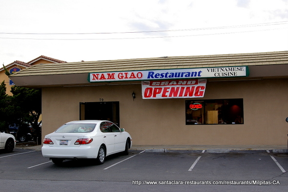 Nam Giao Restaurant in Milpitas, California