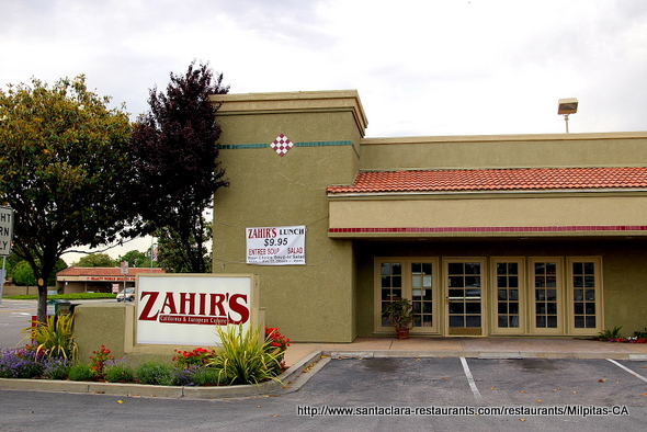 Zahir's Café in Milpitas, California