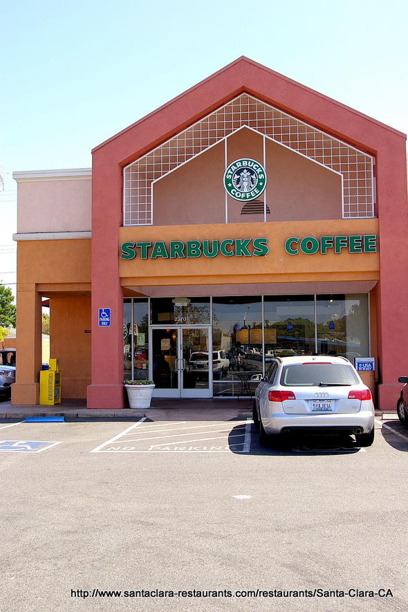Starbucks 2370 El Camino Real In Santa Clara Ca Photo
