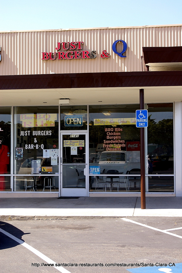 Just Burgers & Q in Santa Clara, California