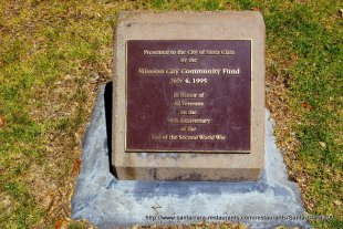 Veterans Memorial Plaque- (medium sized photo)