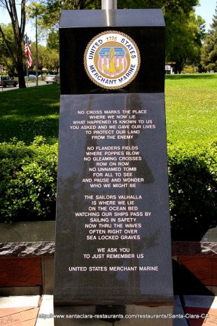 Veterans Memorial US Merchant Marine- (medium sized photo)