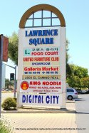 Lawrence Square Sign