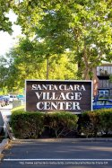 Village Center Sign