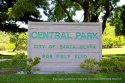 Central Park Sign in Santa Clara, CA