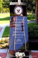Veterans Memorial USN Navy